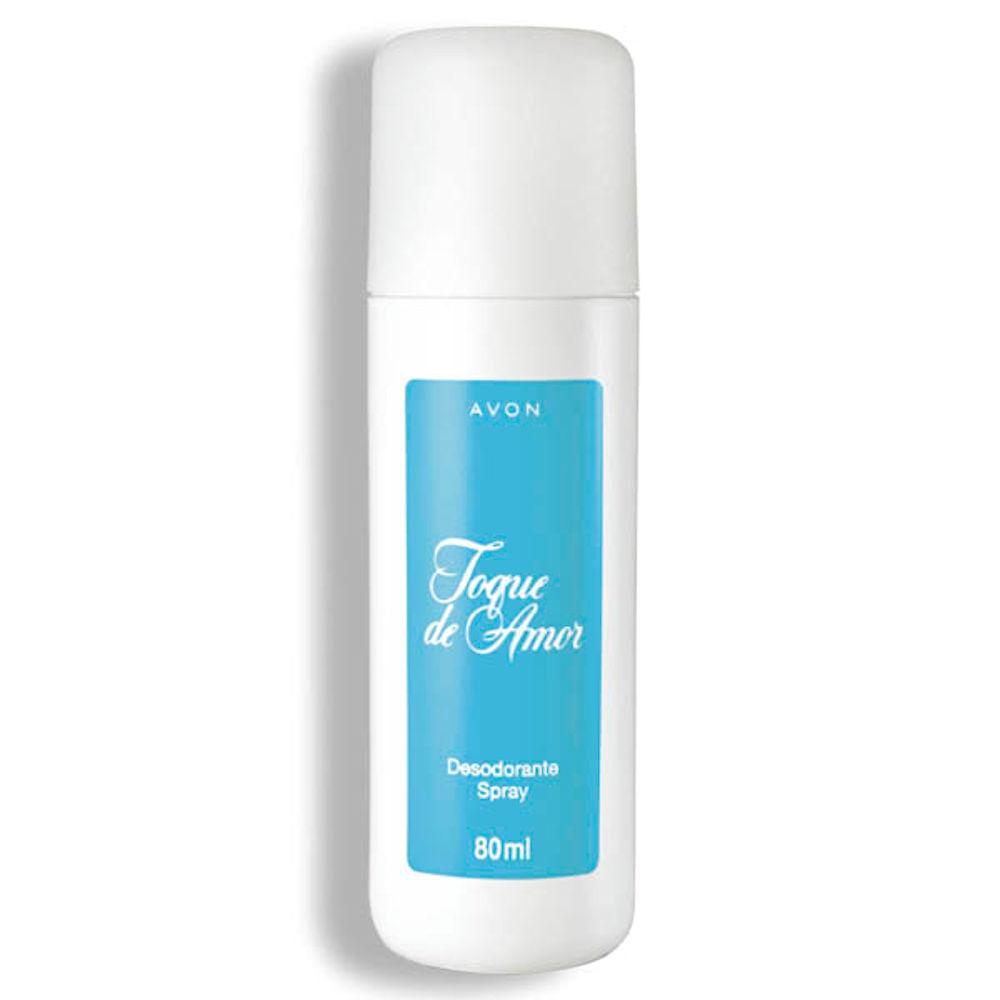 Desodorante Spray Toque de Amor - 80 ml