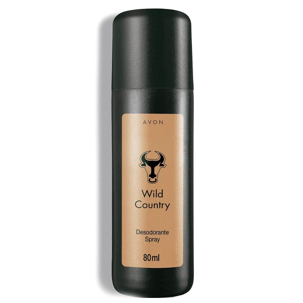 Desodorante Spray Wild Country - 80 ml