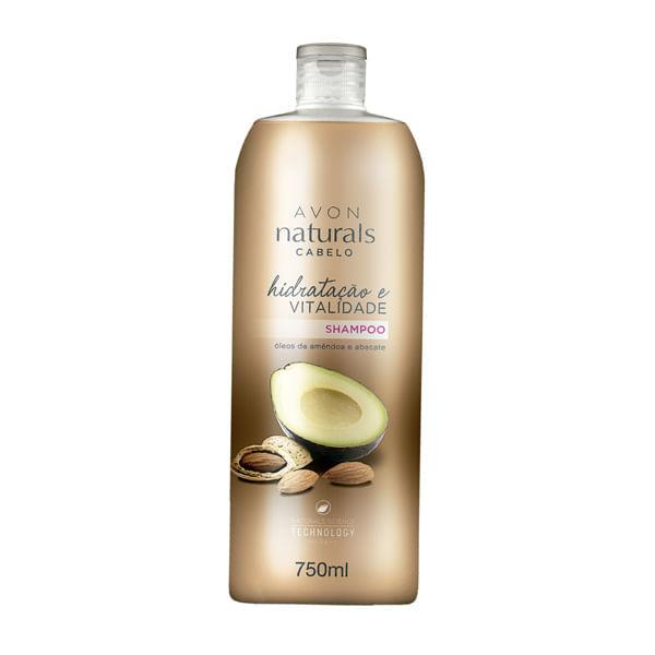 Shampoo Naturals Cabelo Hidratação e Vitalidade 750ml