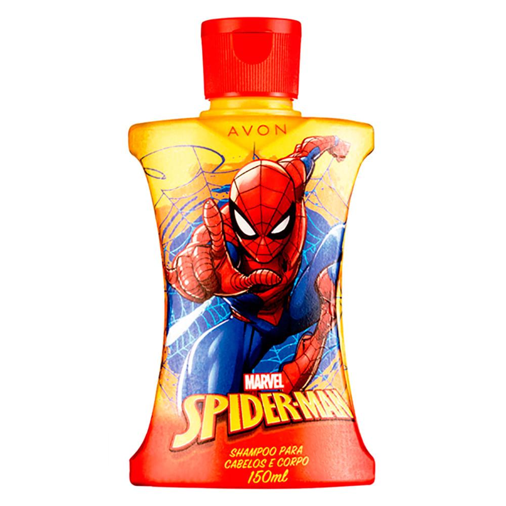 Shampoo 2 em 1 Homem Aranha Cartoon - 150 ml