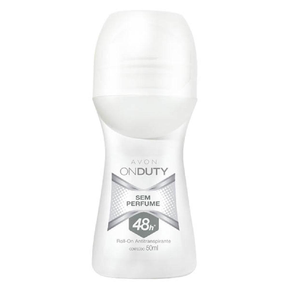 Desodorante Roll-On Antitranspirante On Duty sem Perfume - 50 ml
