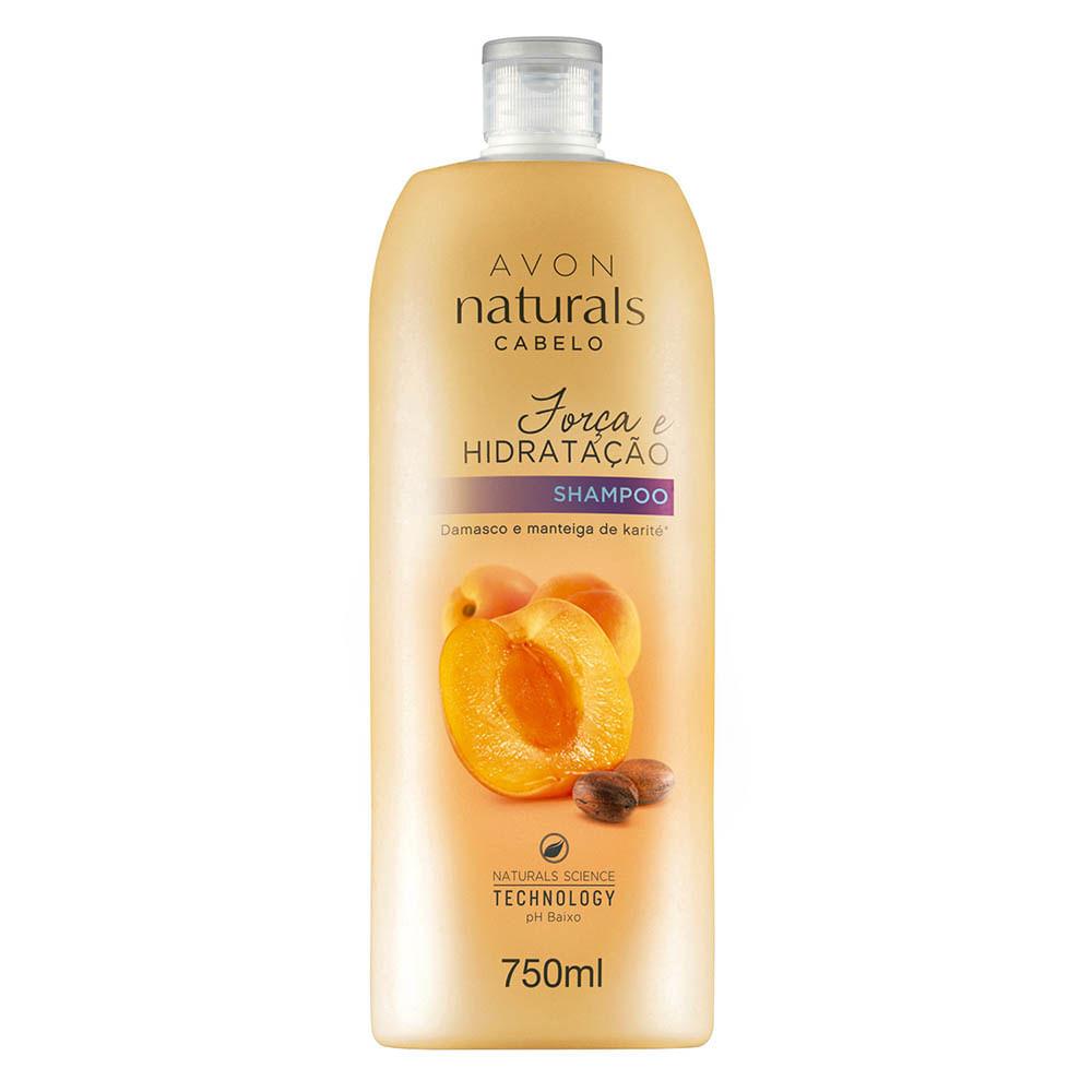 Shampoo Naturals Cabelo Força e Hidratação - 750 ml