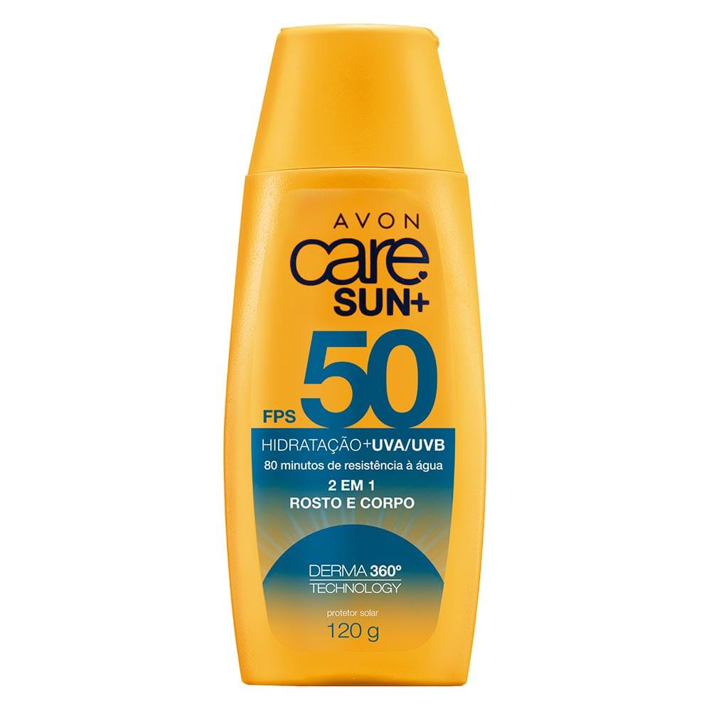 Protetor Solar 2 em 1 Care Sun+ FPS 50 120 g