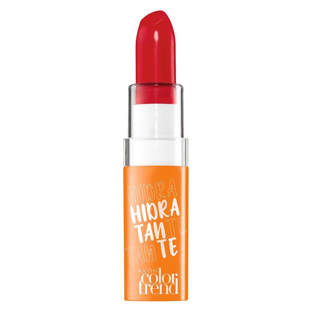 Batom Hidratante Color Trend  FPS 15 3,6 g - Vermelho Pop