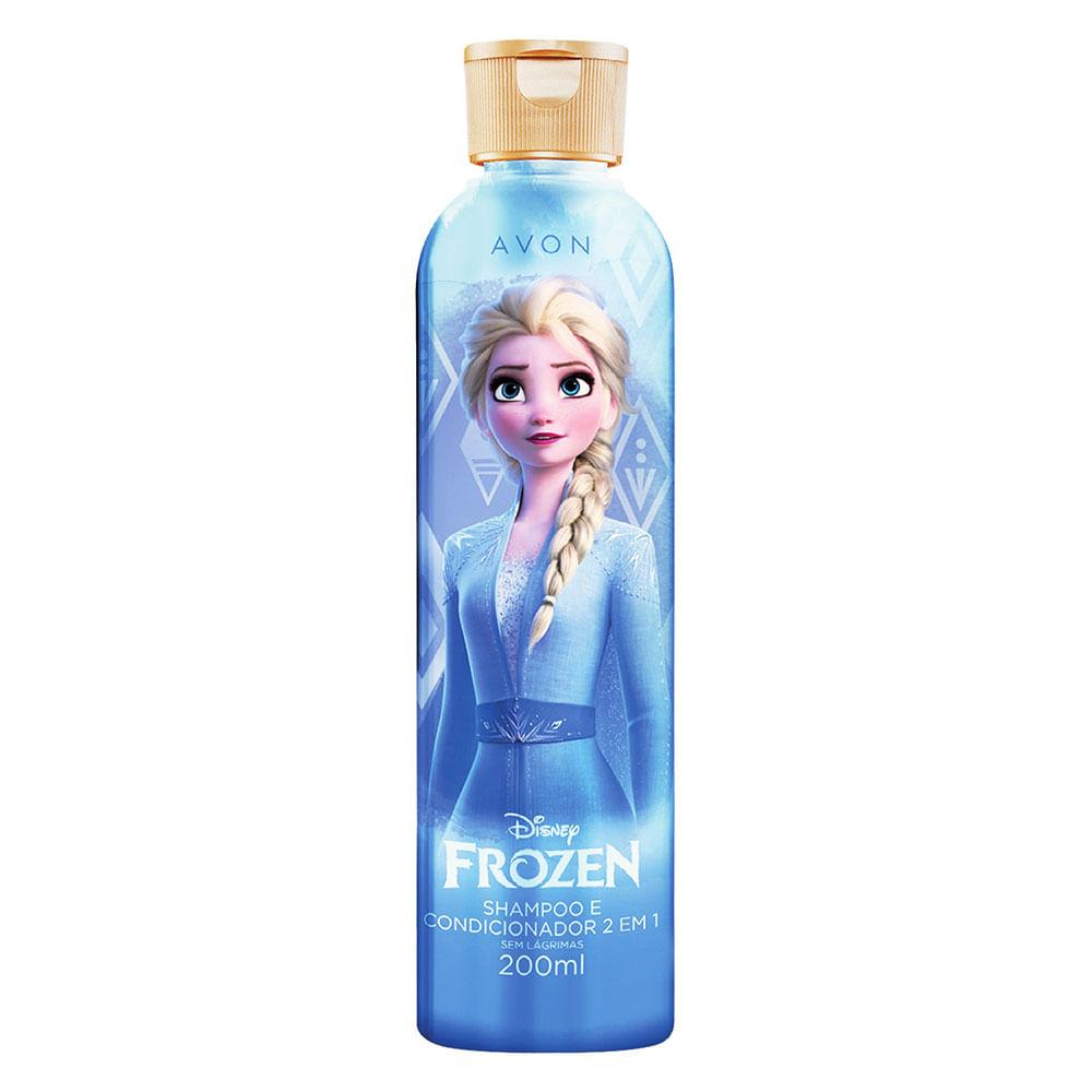Shampoo e Condicionador 2 em 1 Frozen Magic - 200ml