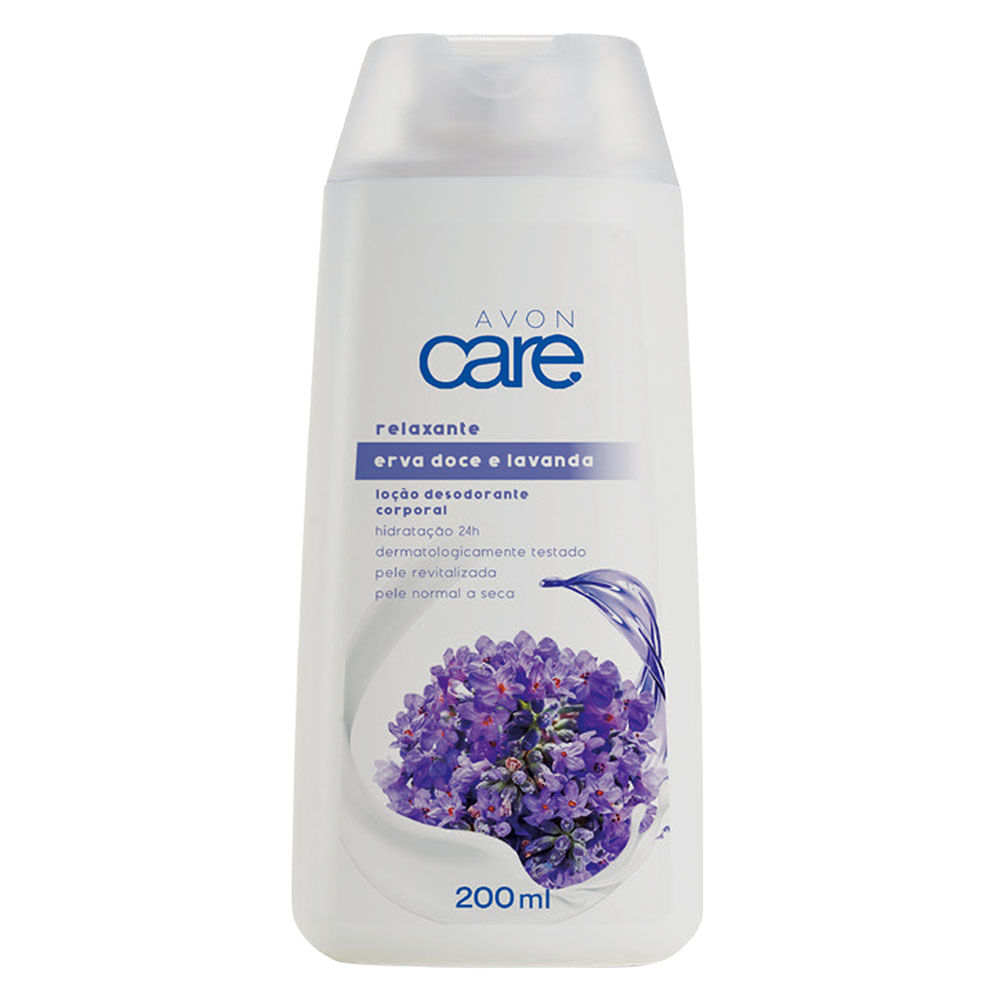 Loção Desodorante Corporal Erva Doce e Lavanda Avon Care - 200ml