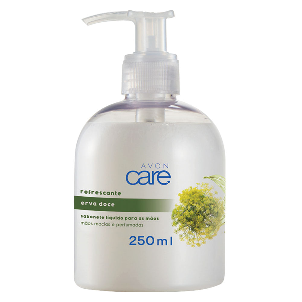 Sabonete Líquido para as Mãos Erva Doce Avon Care - 250ml