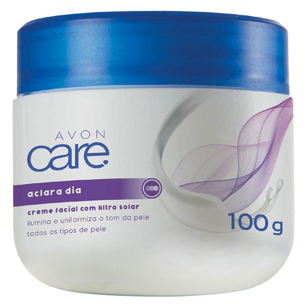 Creme Facial Aclara Dia Avon Care - 100g