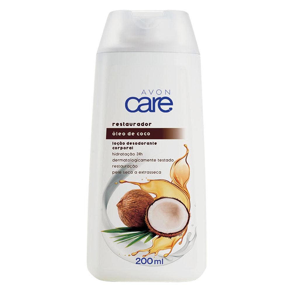 Loção Desodorante Corporal Óleo de Coco Avon Care - 200ml