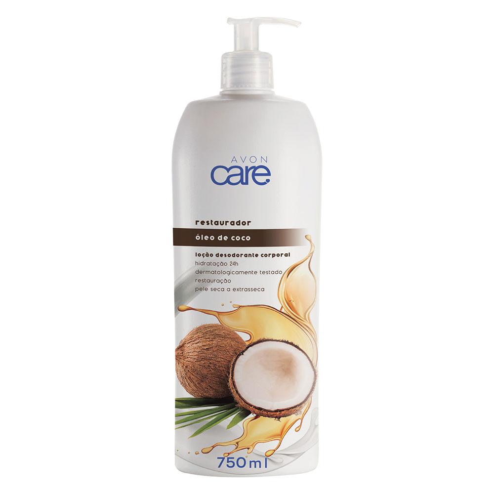 Loção Desodorante Corporal Óleo de Coco Avon Care - 750ml