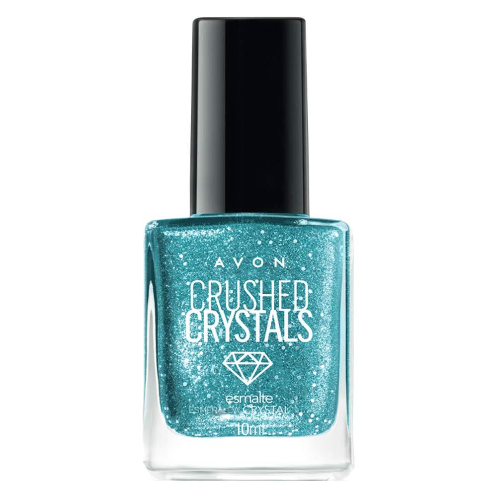 Esmalte Avon Crushed Crystals 10ml - Esmeralda Crystal