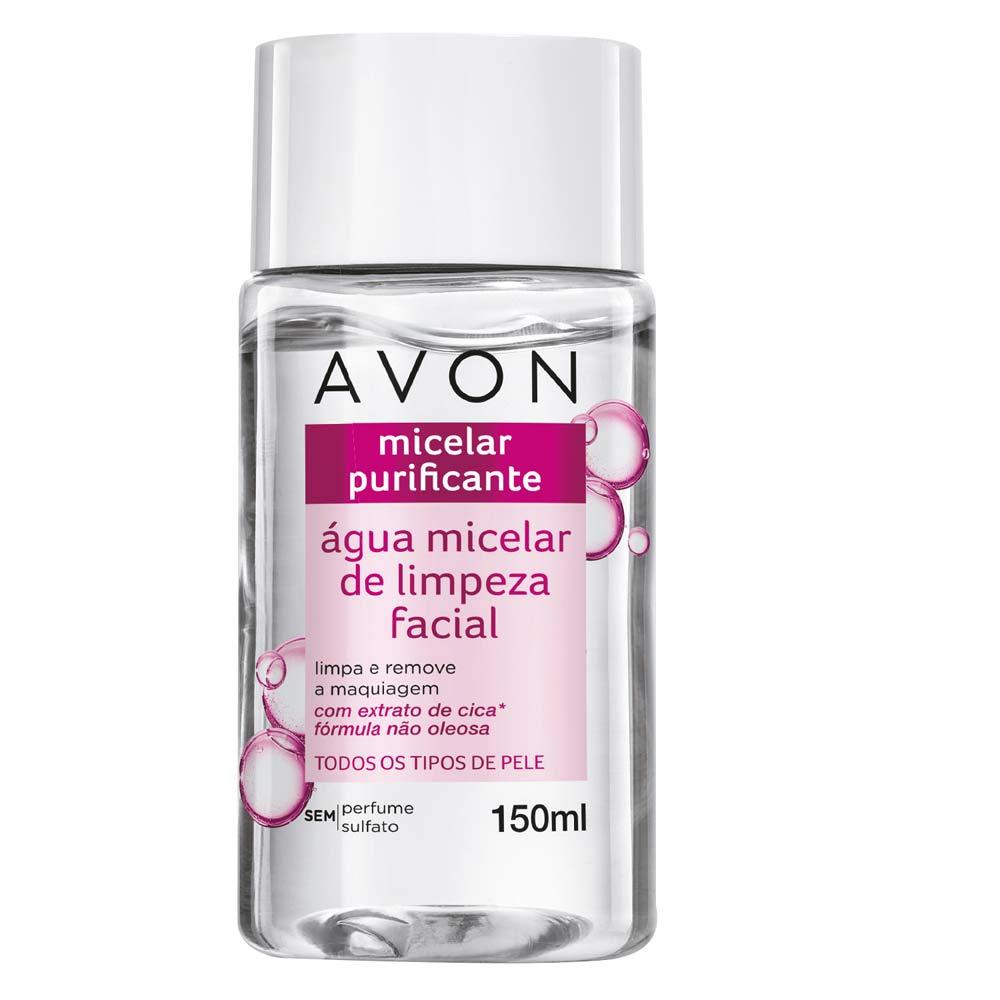 Água Micelar de Limpeza Facial Avon - 150 ml