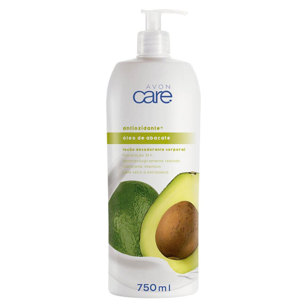 Loção Desodorante Corporal Óleo de Abacate Avon Care - 750ml