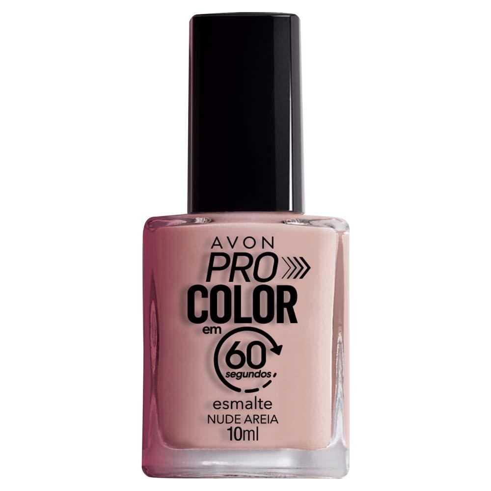 Esmalte Avon Pro Color 10ml - Nude Areia