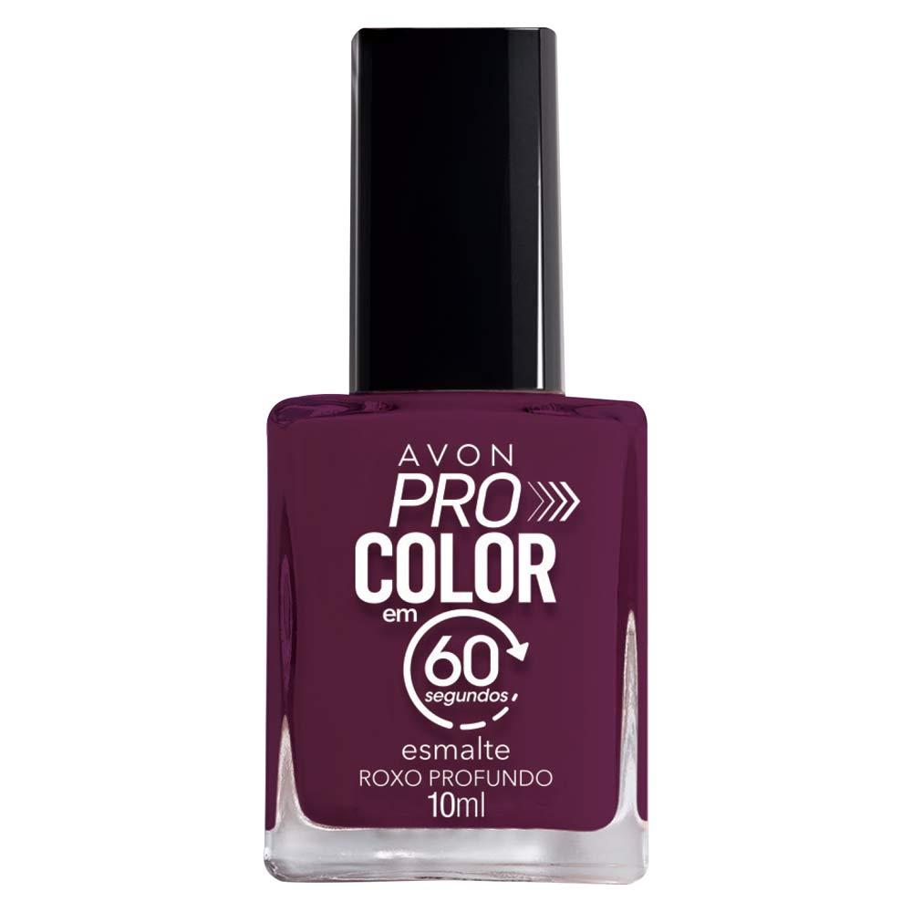 Esmalte Avon Pro Color 10ml - Roxo Profundo