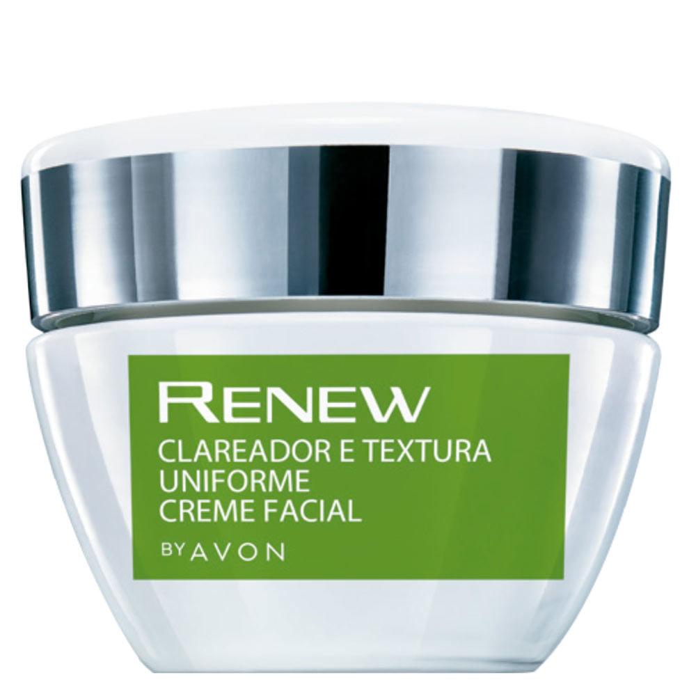 Creme Facial Renew Clareador e Textura Uniforme - 30g