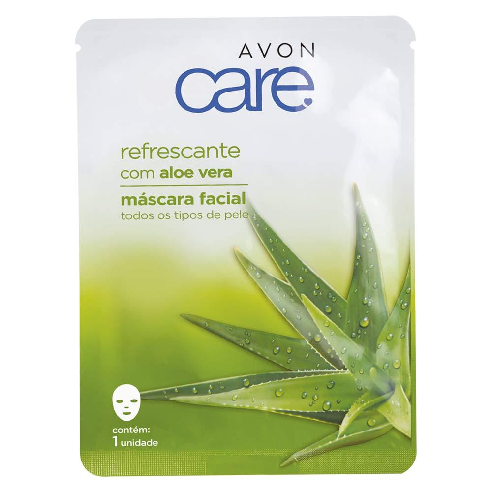 Máscara Facial Avon Care Refrescante com Aloe Vera - 1 Unidade