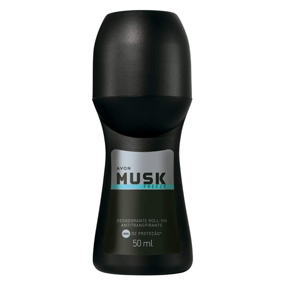 Desodorante Antitranspirante Roll-On Musk Freeze - 50 ml
