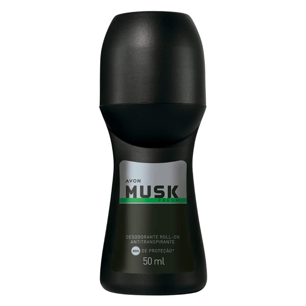 Desodorante Antitranspirante Roll-On Musk Fresh - 50 ml