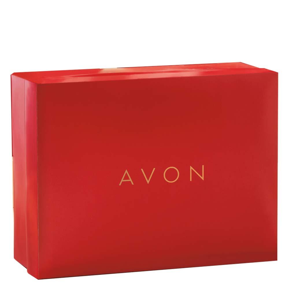 Caixa de Presente Avon Vermelha