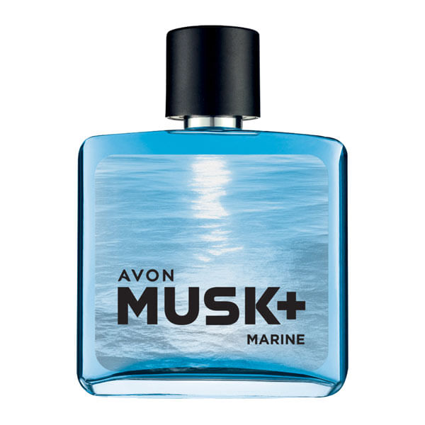 Musk+ Marine Deo Colônia - 75ml