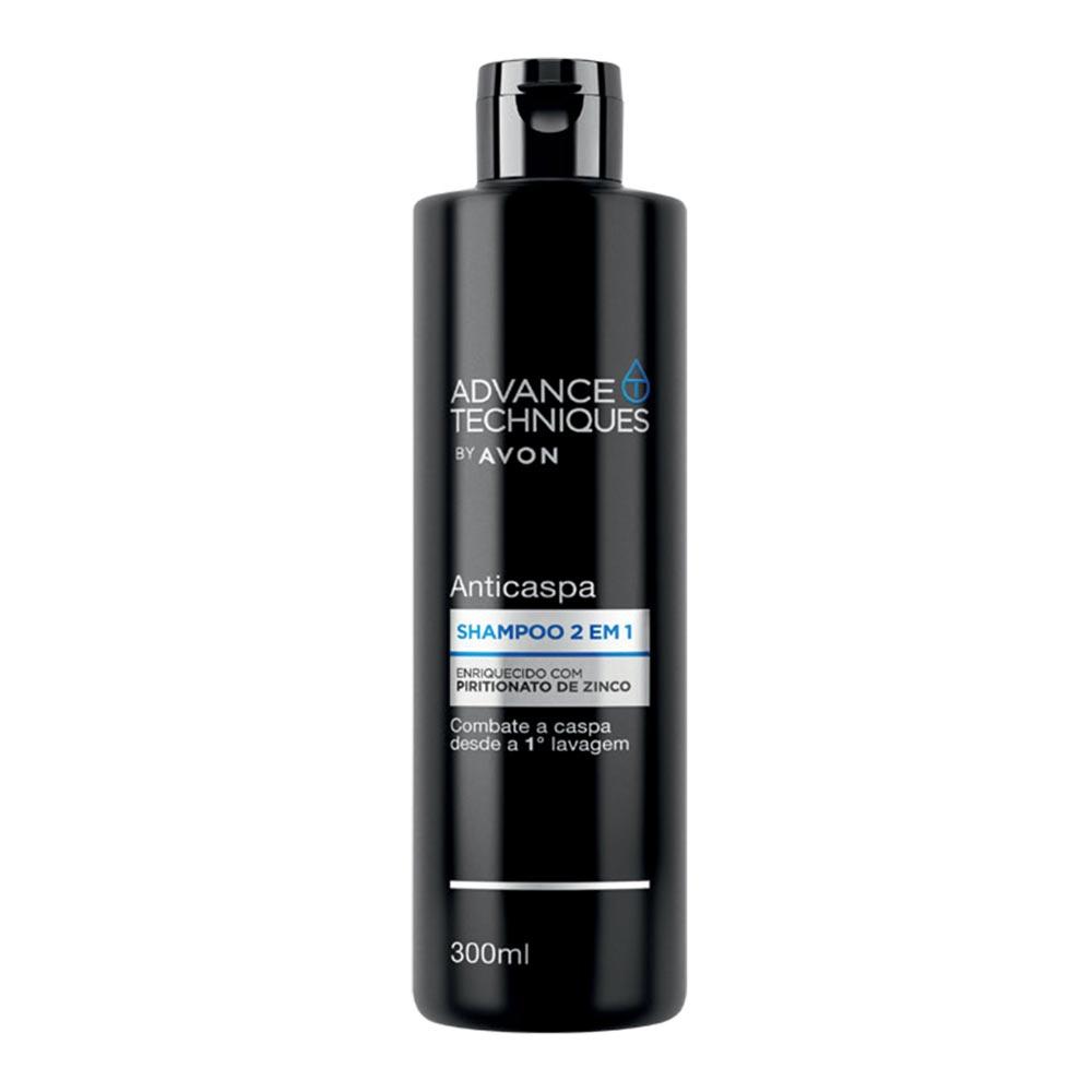Shampoo Anticaspa 2 em 1 Advance Techniques - 300 ml