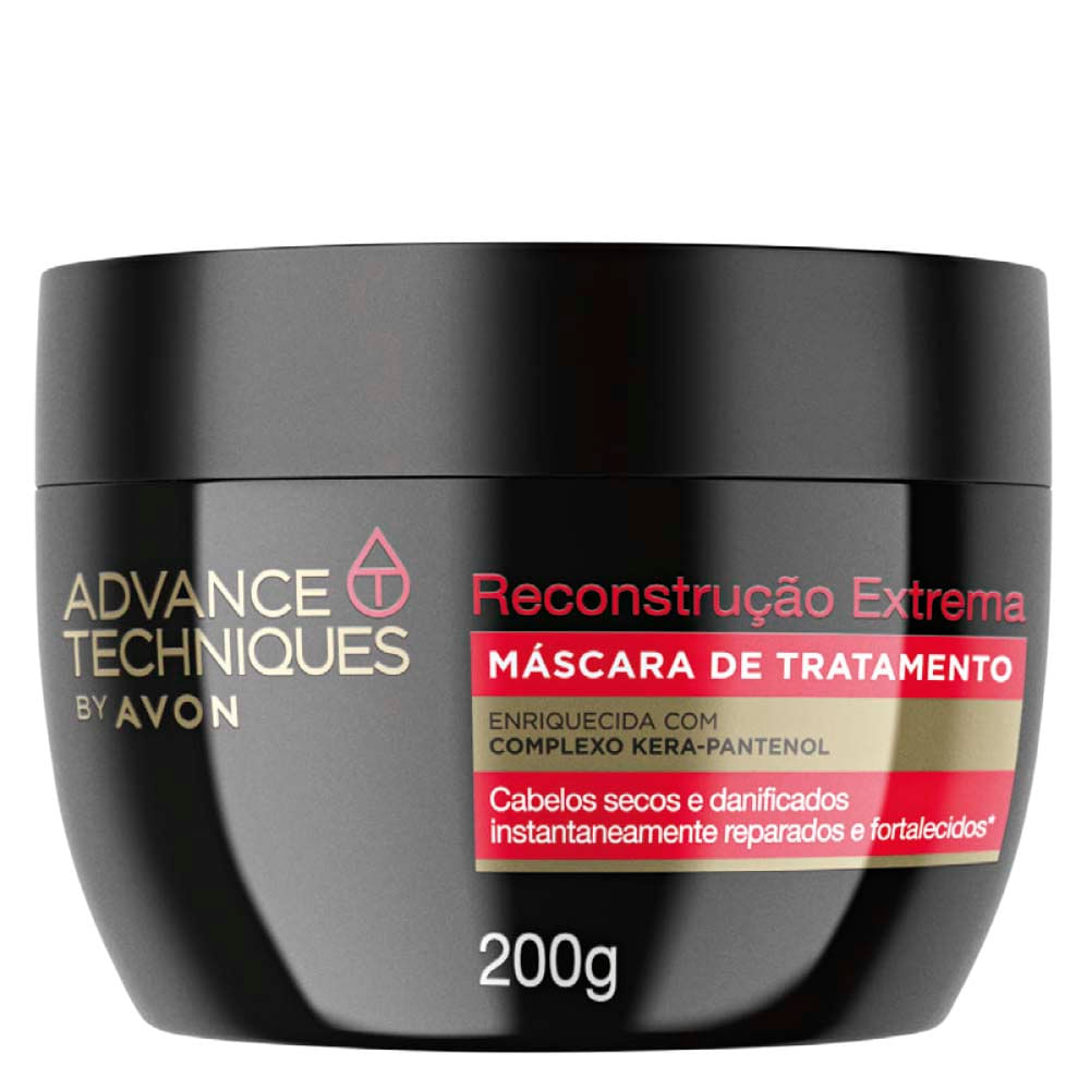 Máscara de Tratamento Reconstrução Extrema Advance Techniques - 200 g