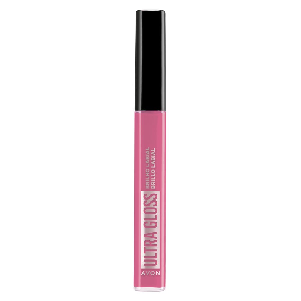 Brilho Labial Avon Ultra Gloss 7ml - Rosa Sereno