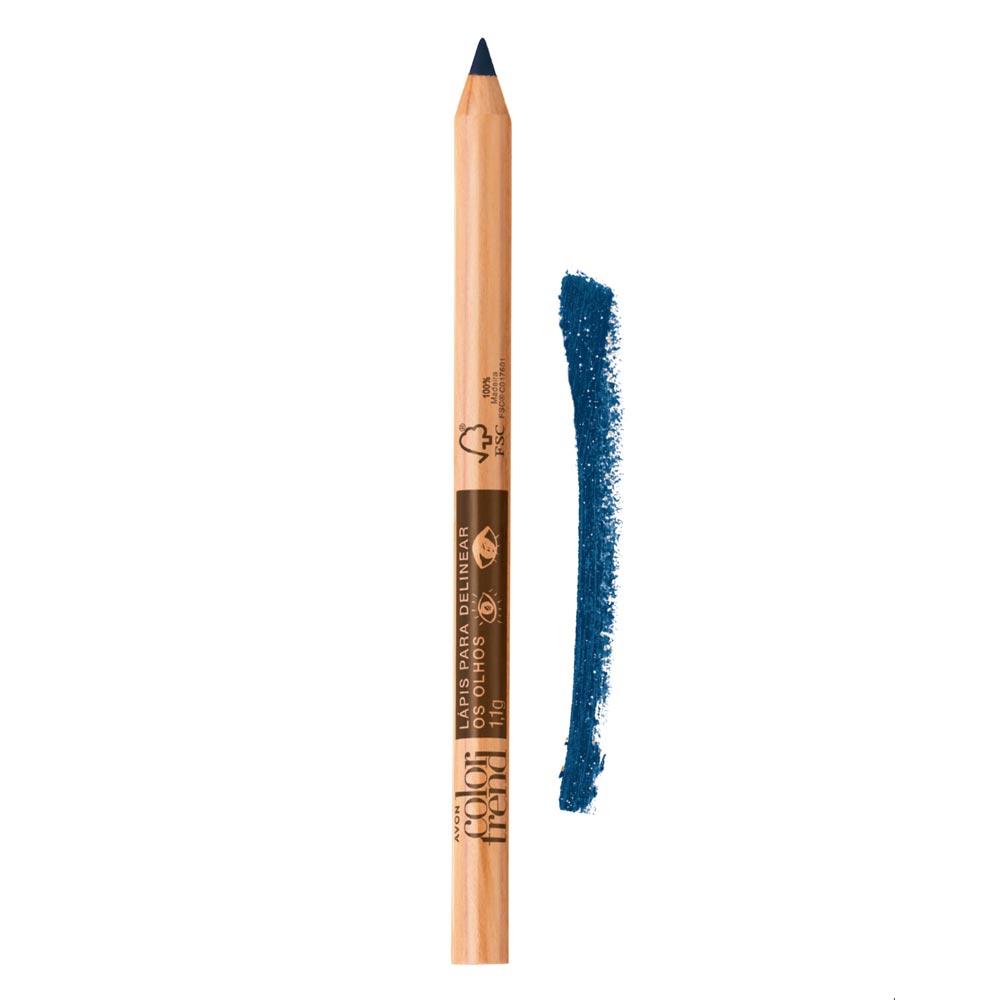 Lápis para Delinear os Olhos Color Trend 1,1g  - Azul Matte
