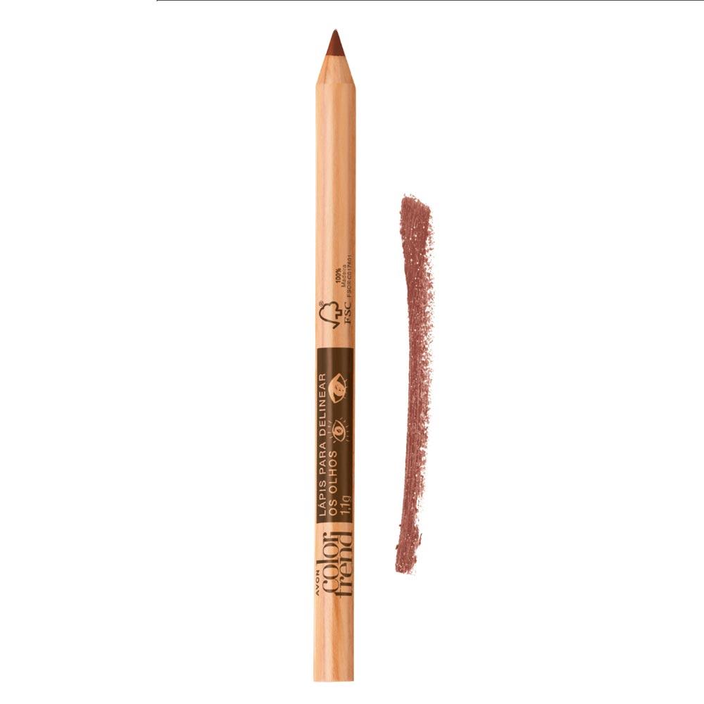 Lápis para Delinear os Olhos Color Trend 1,1g  - Bronze Metálico