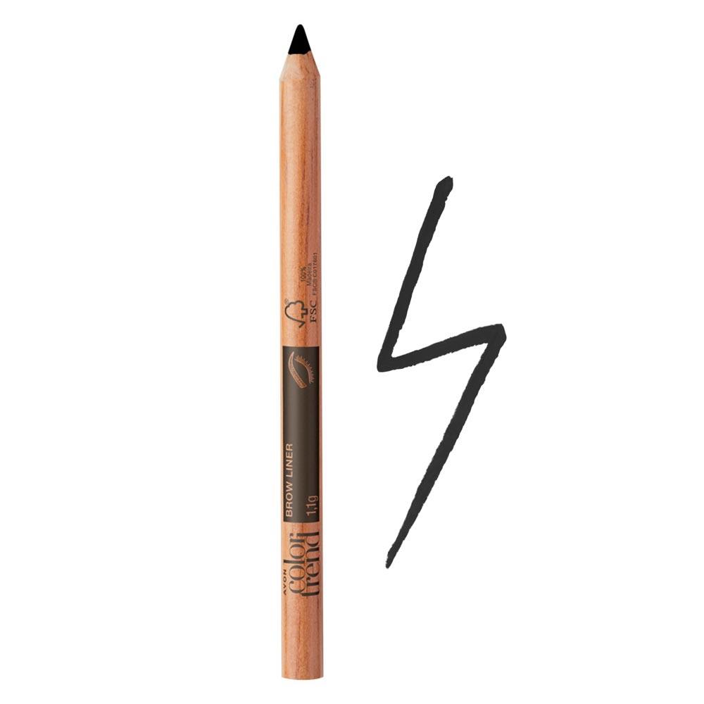Lápis de Sobrancelhas Color Trend - Escuro