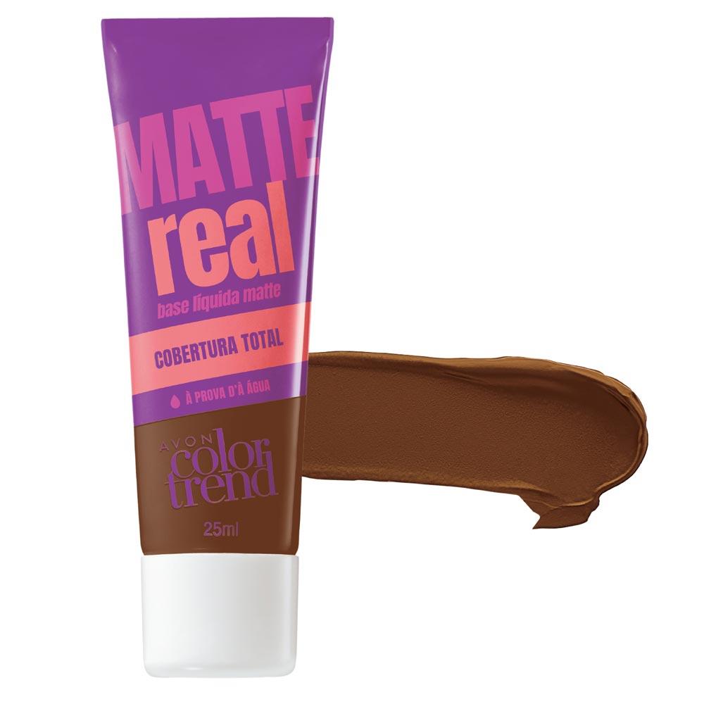 Base Líquida Matte Color Trend Matte Real 25 ml - Marrom Escuro
