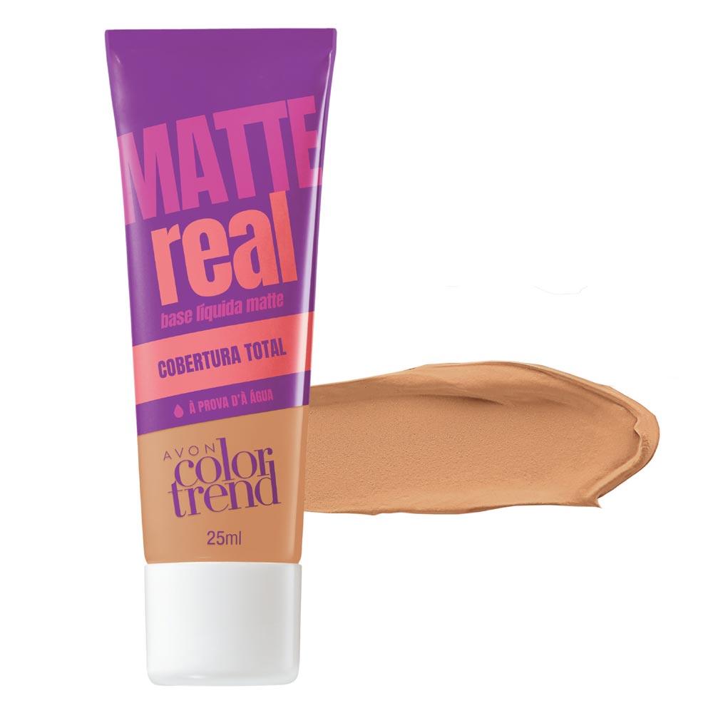 Base Líquida Matte Color Trend Matte Real 25 ml - Bege Claro