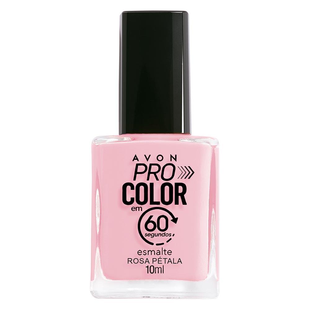 Esmalte Avon Pro Color 10ml - Rosa Pétala