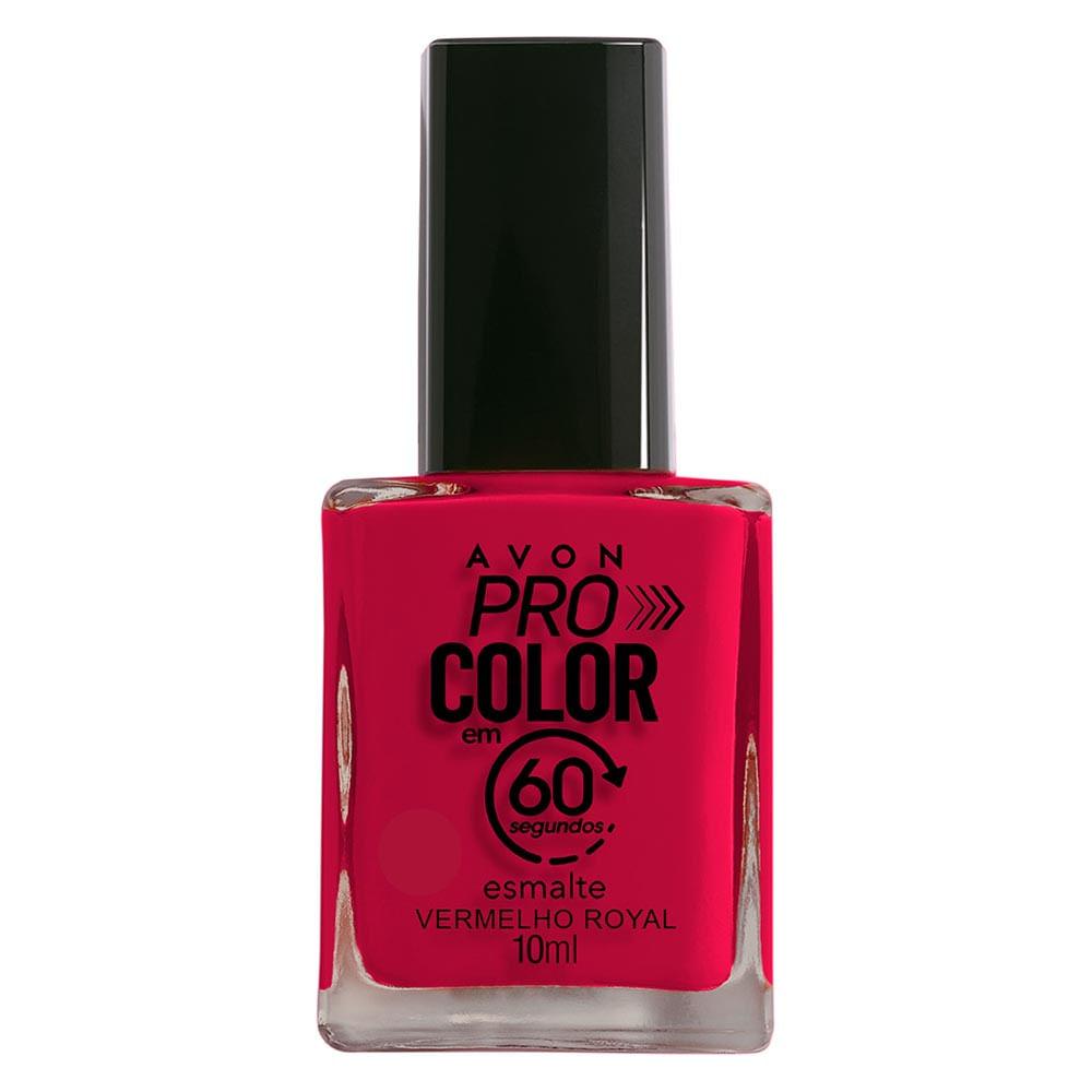Esmalte Avon Pro Color 10ml - Vermelho Royal