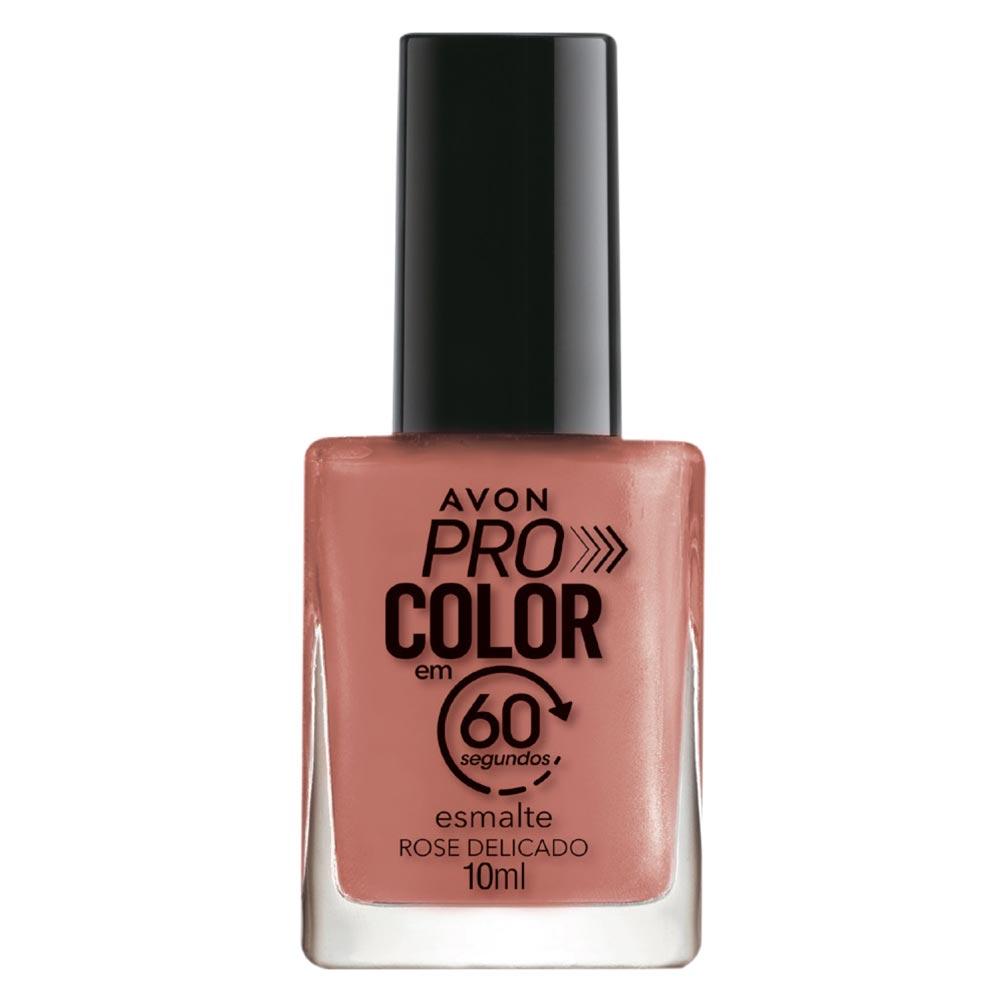 Esmalte Avon Pro Color 10ml - Rose Delicado
