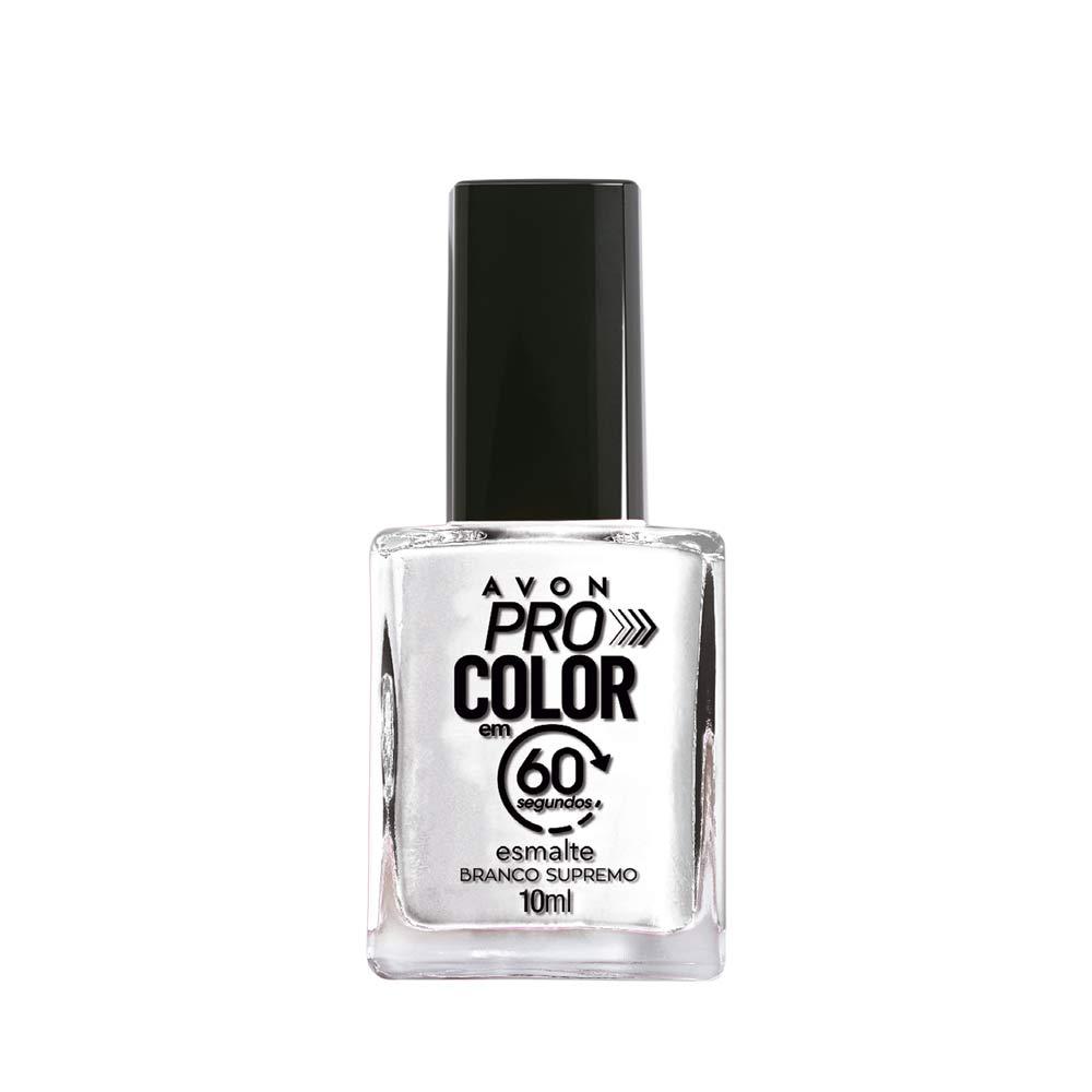 Esmalte Avon Pro Color 10ml - Branco Supremo