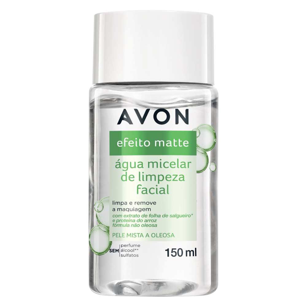Água Micelar de Limpeza Facial Efeito Matte - 150ml