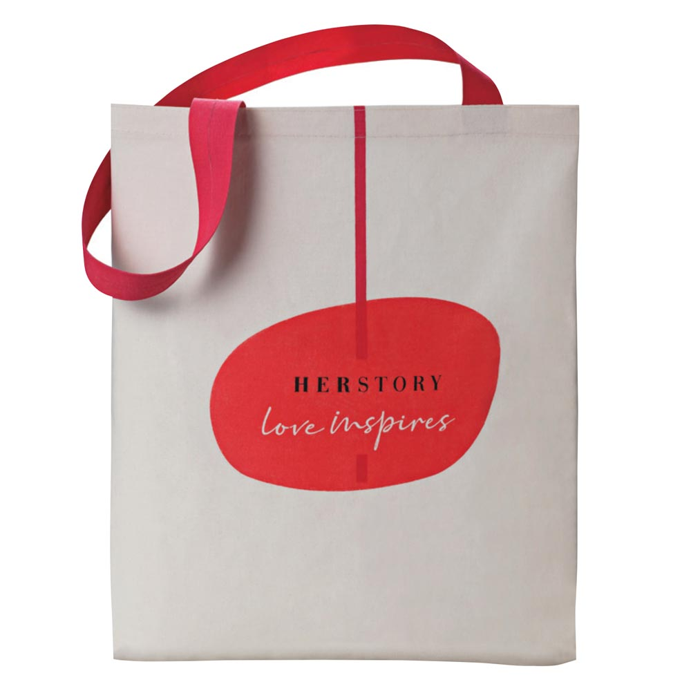 Ecobag Herstory Love Inpires