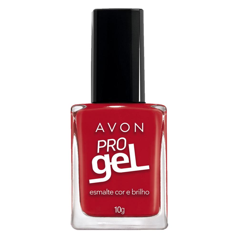 Esmalte Avon Cor e Brilho Pro Gel 10g - Beijo Proibido