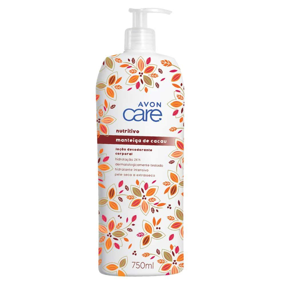 Loção Desodorante Corporal Hidratante Manteiga de Cacau - 750ml