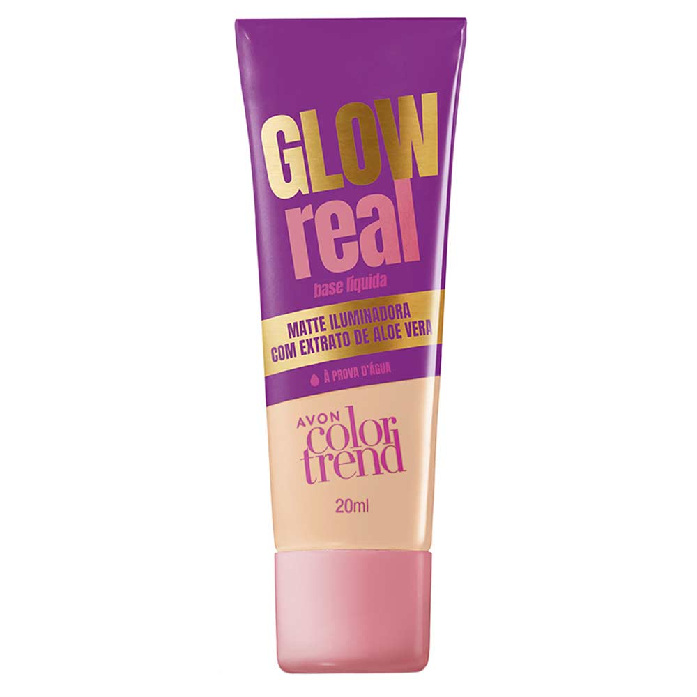 Base Líquida Glow Real Color Trend 20ml - 120 NQ
