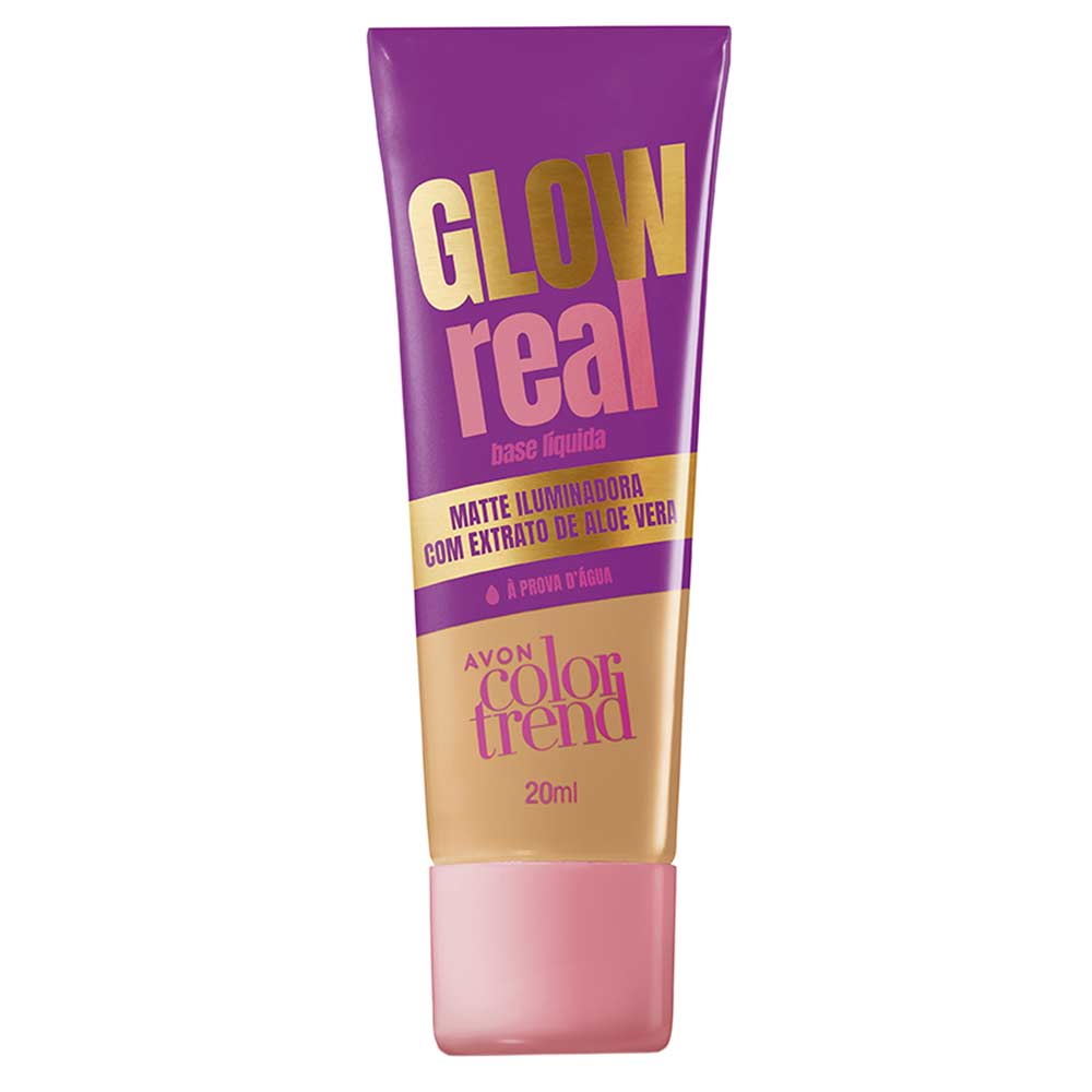 Base Líquida Glow Real Color Trend 20ml - 220 NQ