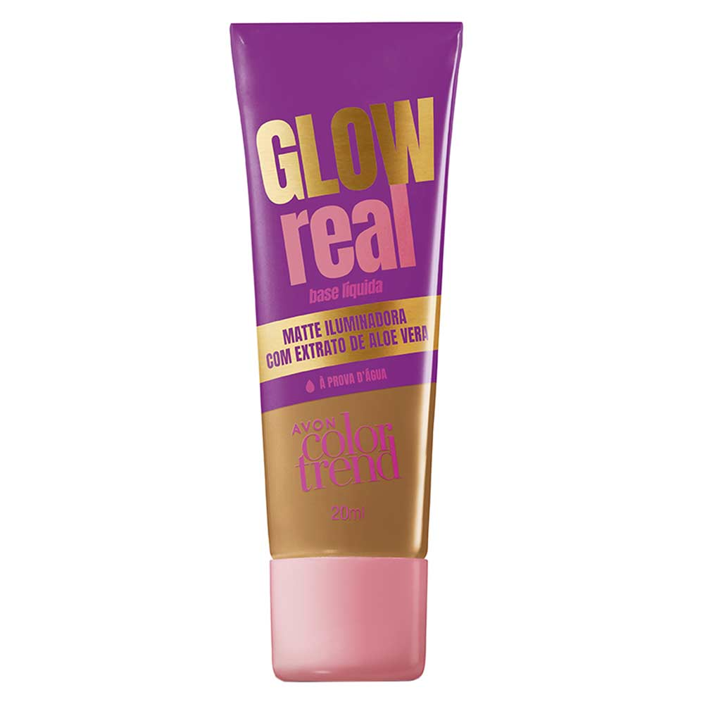 Base Líquida Glow Real Color Trend 20ml - 330 Q