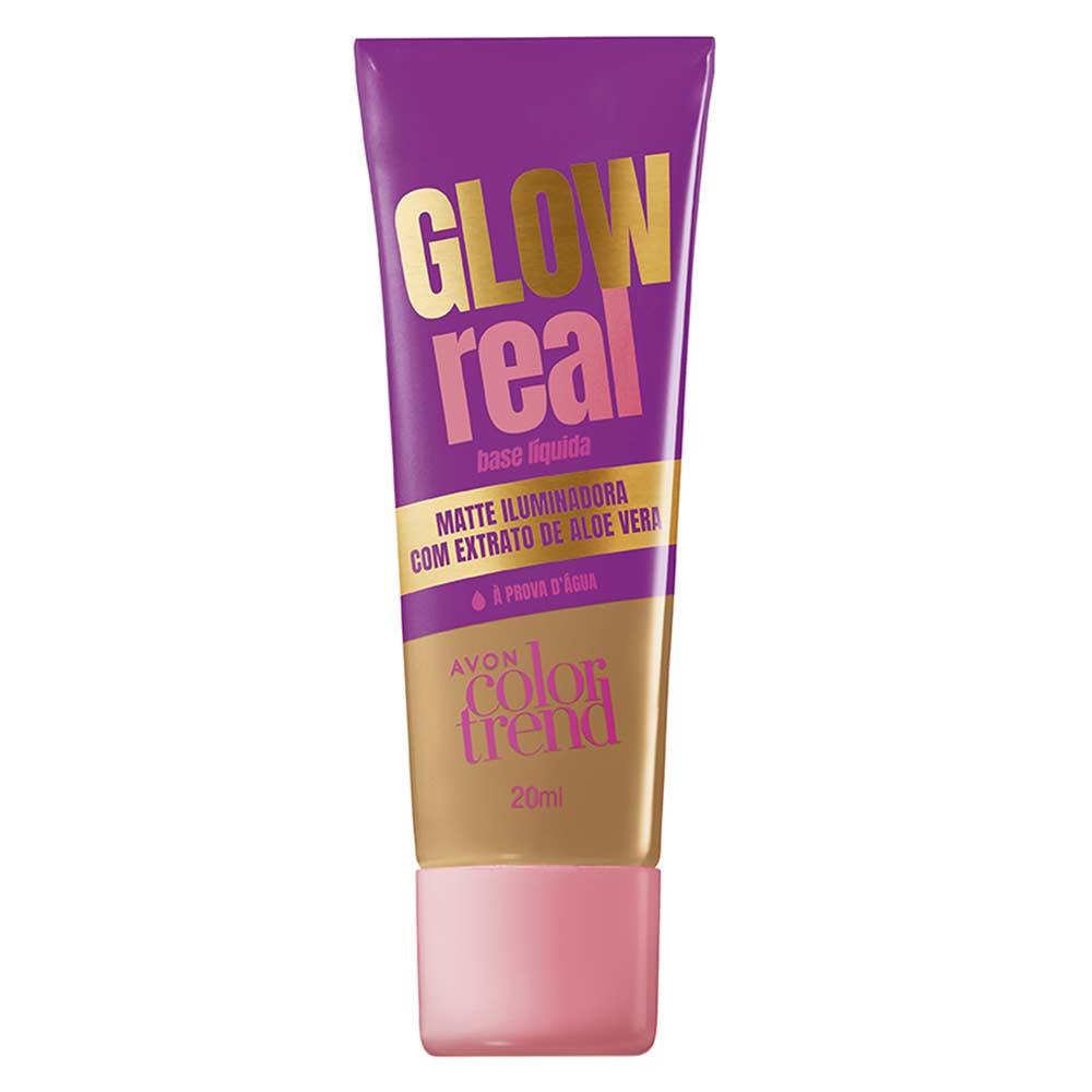 Base Líquida Glow Real Color Trend 20ml  - 340 Q