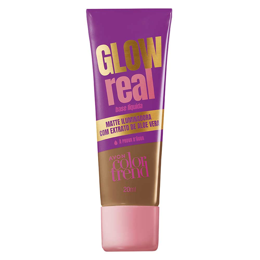 Base Líquida Glow Real Color Trend 20ml - 430 F