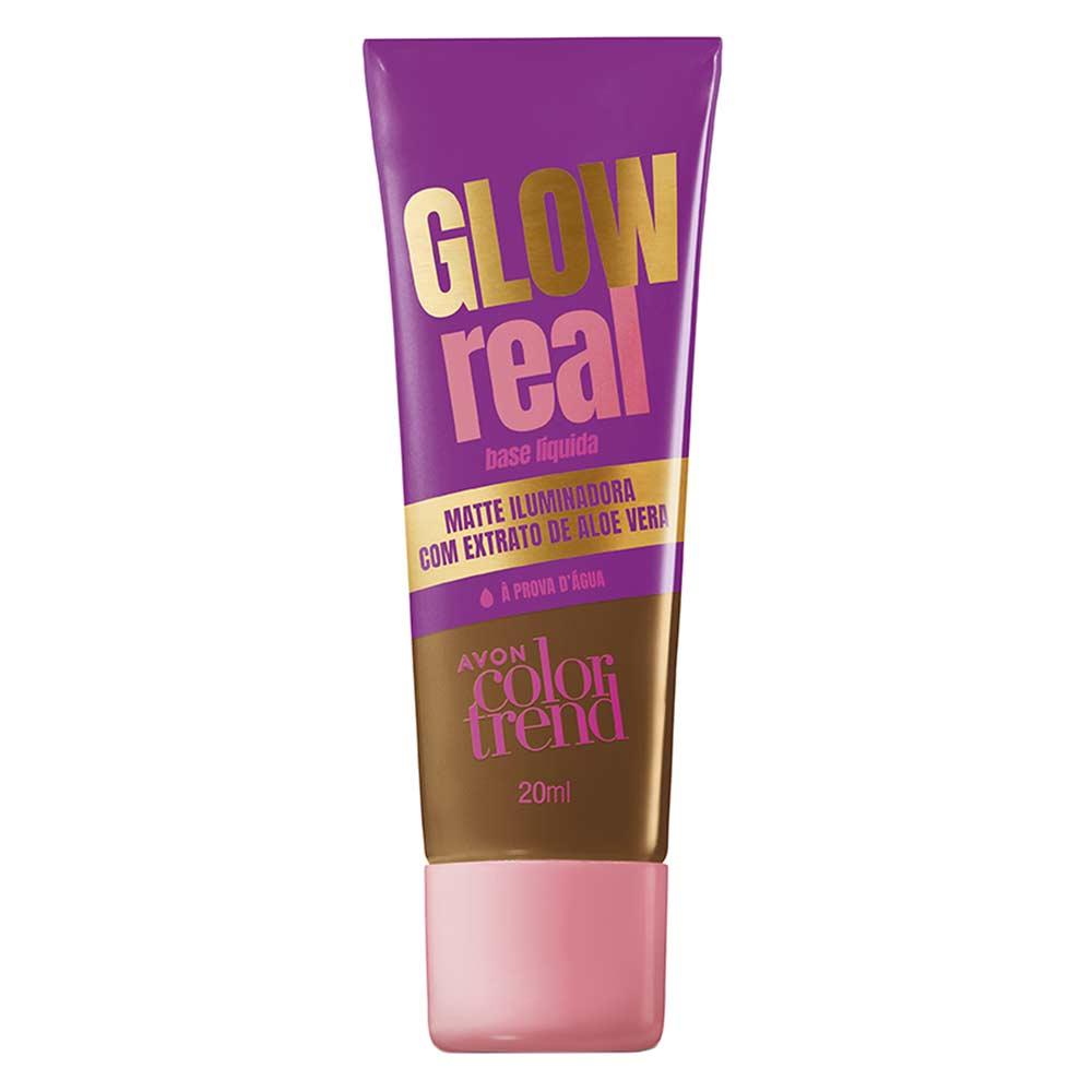 Base Líquida Glow Real Color Trend 20ml - 520 NQ