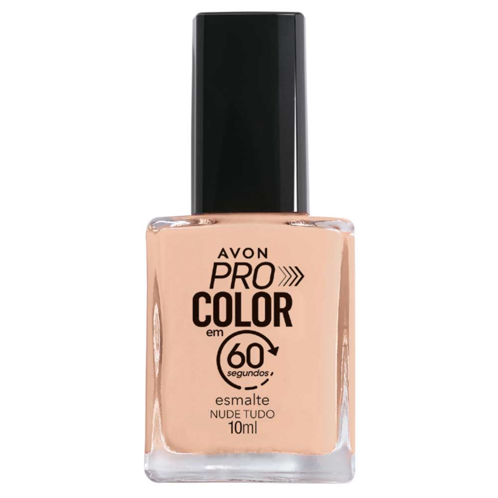 Esmalte Avon Pro Color 10ml - Nude Tudo