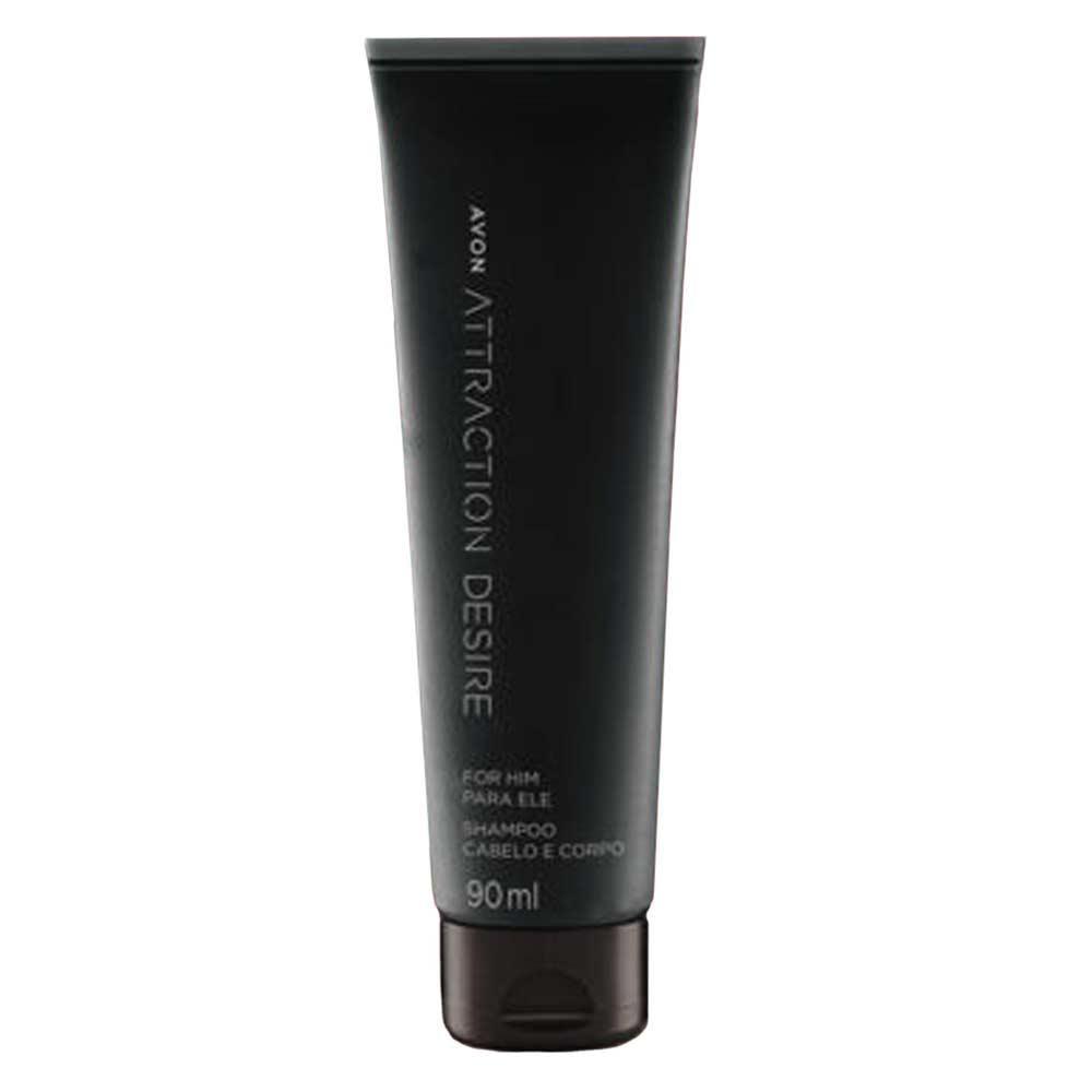 Shampoo Cabelo e Corpo Attraction Desire for Him - 90ml