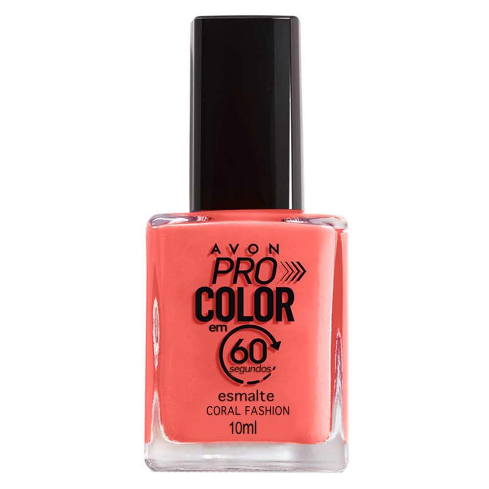 Esmalte Avon Pro Color 10ml - Coral Fashion